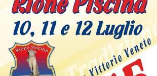 """Manziana: Festa del Rione Piscina. """"Un tuffo nella tradizione"""" il 10,11 e 12 luglio"""