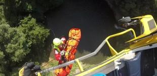 Cerveteri: salvo il 15enne caduto in una gola di 50 metri