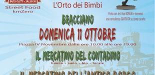 Bracciano: domenica 11 Ottobre 'Il Mercatino del Contadino e dell'Artigianato'