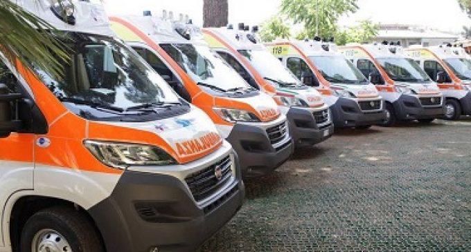 Sanita': Zingaretti consegna prime 20 nuove ambulanze ?118