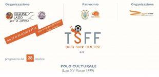 Tolfa, dal 27 ottobre la II edizione del Tolfa Slow Film Fest 2.0