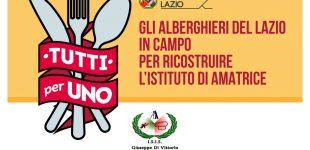 Gli Alberghieri del Lazio per Amatrice: il 21 ottobre  giornata di beneficenza all'Istituto di Ladispoli