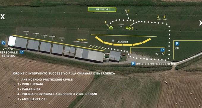 """A Vigna di Valle la tappa conclusiva del progetto """"Un volo sulla sicurezza"""""""