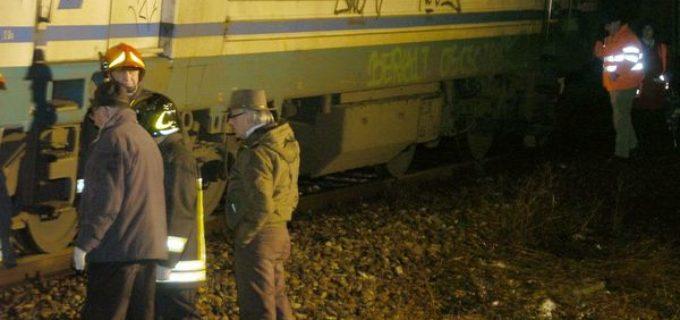 Montemario: il treno investe una persona