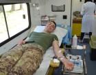 Cesano: l'Esercito partecipa alla Giornata della Raccolta Sangue