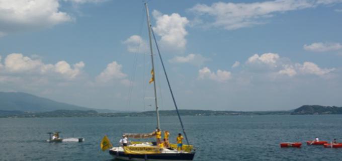 Lago di Bracciano: la Goletta dei Laghi consegna i risultati delle analisi e delle acque sporche dei fossi sabatini