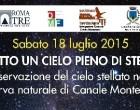 Canale Monterano: il 18 Luglio evento notturno alla Riserva Naturale