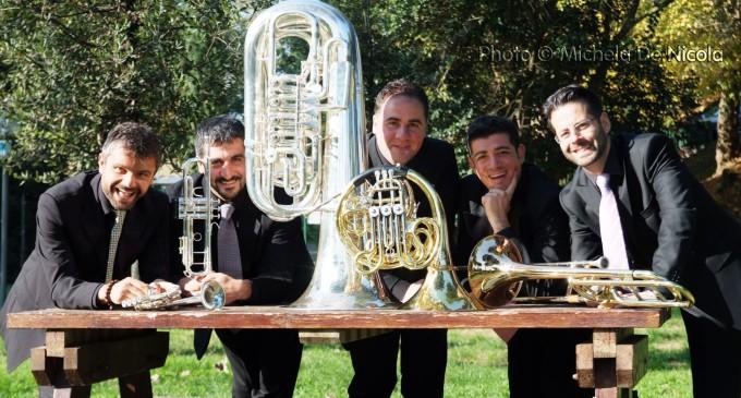 Tarquinia: Quintessenza Brass in concerto