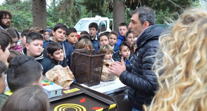 Cerveteri. Partita la sperimentazione del compostaggio di prossimità per le mense scolastiche