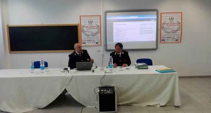 """""""Mettici la testa"""": Polizia Stradale, Carabinieri e Polizia Postale all'Istituto Alberghiero di Ladispoli per l'educazione alla legalità"""