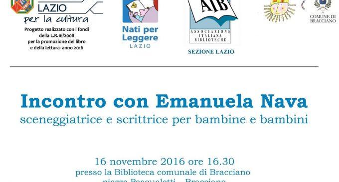 """Bracciano, il 16 novembre """"Nati per leggere"""" con Emanuela Nava"""