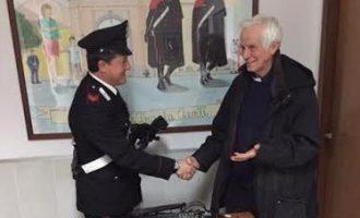 Campagnano: furto nella parrocchia, i Carabinieri fermano il ladro e restituiscono refurtiva