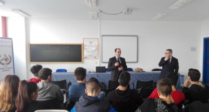 Gli allievi dell'Alberghiero di Ladispoli incontrano i rappresentanti dell'Associazione Italiana Impiegati d'Albergo