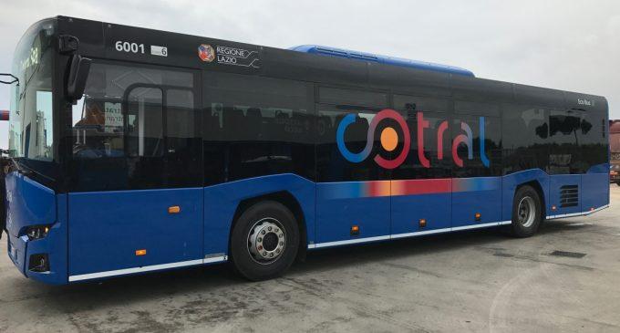 Trasporti Lazio, consegnati altri 5 nuovi bus Cotral a Genazzano