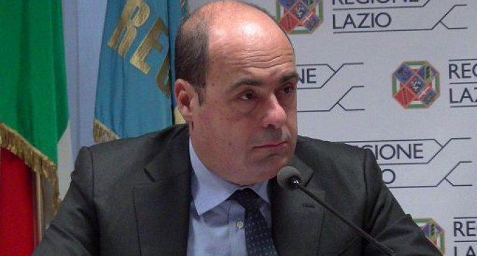Zingaretti e Delrio presentano i nuovi autobus Cotral