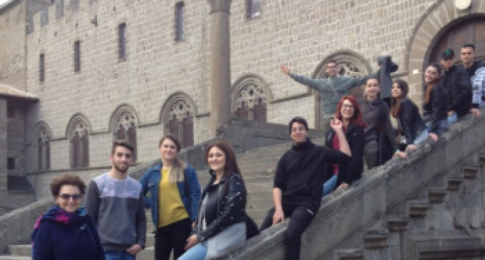 Studenti Istituto Alberghiero Ladispoli all'Open Day dell'Università della Tuscia