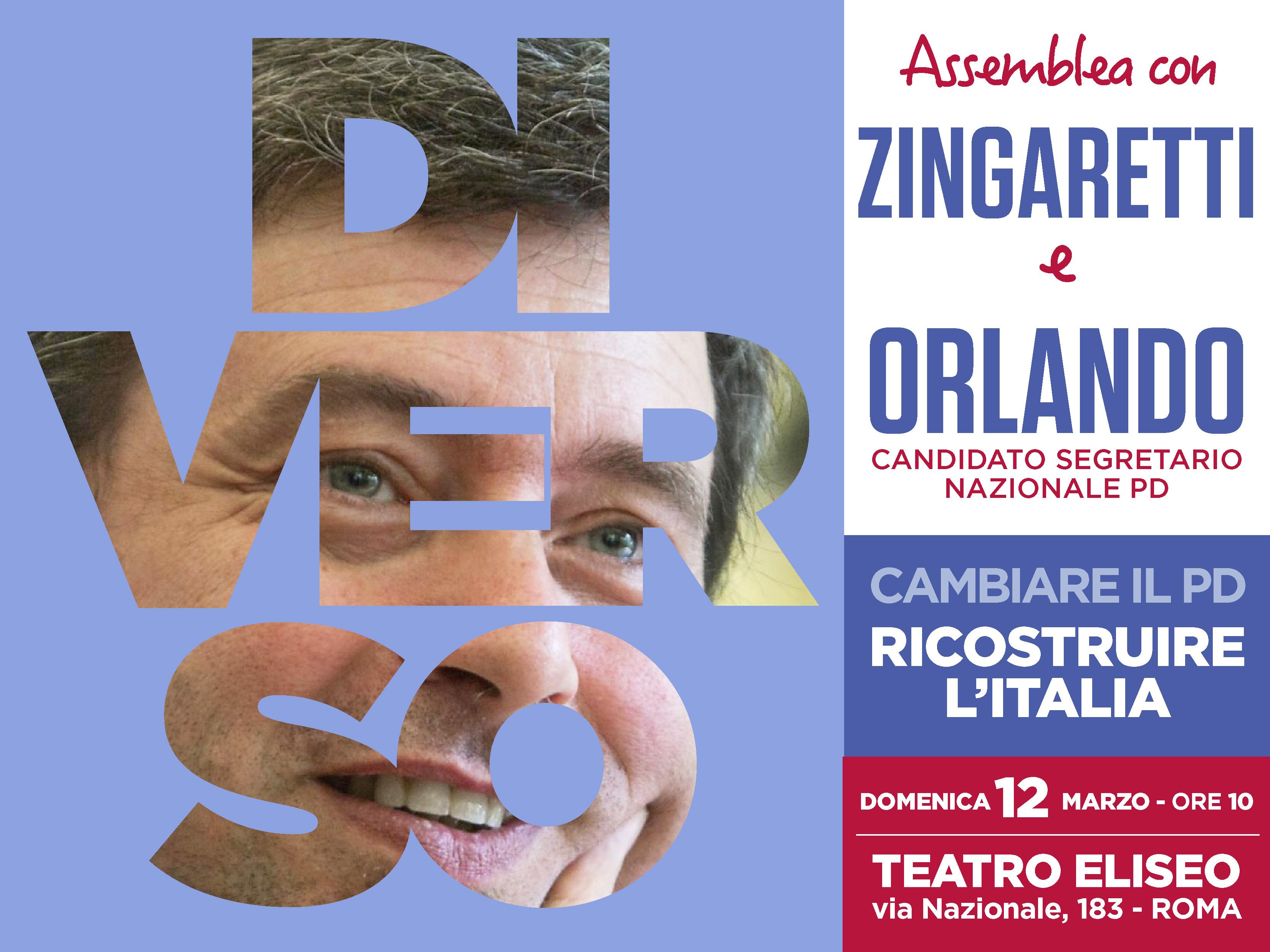 Orlando_Zingaretti_12.3.17_Teatro Eliseo