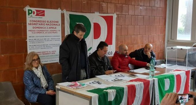 I risultati del Circolo PD di Ladispoli: vince Matteo Renzi