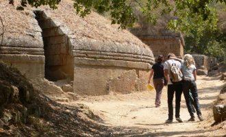 Cerveteri, ponte del 1 maggio alla Necropoli etrusca della Banditaccia