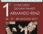 """1° Concorso per Giovani Pianisti """"Armando Renzi"""""""