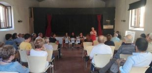 """Anche l'Istituto Alberghiero di Ladispoli ha partecipato alla festa che venerdì 23 giugno ha visto """"L'Agone"""", il Giornale del Lago di Bracciano, celebrare i suoi 24 anni di vita"""