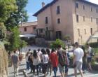 Partecipazione degli studenti dell'Istituto Alberghiero di Ladispoli all'Open day, lo scorso 7 giugno presso l'Accademia del Turismo (Relais Castrum Boccea)
