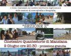Il 9 giugno, ore 20.30, al cineteatro Quantestorie di Manziana, proiezione di due cortometraggi,  realizzati attraverso un progetto con l'Istituto Paciolo di Bracciano