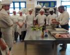 """Seconda giornata di laboratorio (e quinto appuntamento), all'Istituto Alberghiero di Ladispoli, per il Progetto di Educazione al Consumo consapevole """"Sapere i sapori: a tavola con gli Etruschi"""""""