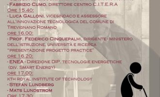 """Il 15 giugno, ore 15.30, Trevignano Roma ospita il convegno internazionale """"SOLUZIONI SMART PER UNA CITTÀ A MISURA D'UOMO"""""""