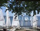 Campionati nazionali di Master Laser nella acque del lago di Bracciano