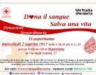 Raccolta sangue 2 e 6 agosto a Manziana e Trevignano Romano