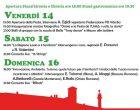 Festa dell'Unità a Oriolo Romano da venerdì 14 a domenica 16 luglio