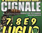 """Tutto pronto a Canale Monterano per la """"Sagra der Cignale""""  dal  7 al 9 luglio"""
