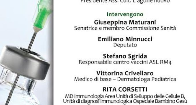 Vaccini: parliamone. Assemblea pubblica a Bracciano il prossimo 17 luglio