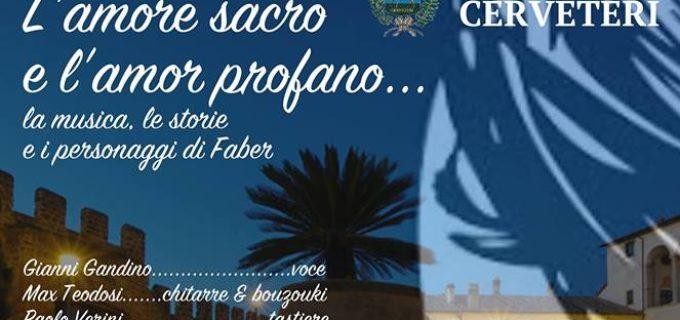 Cerveteri, domenica nel Centro Storico il meraviglioso omaggio a Fabrizio De André