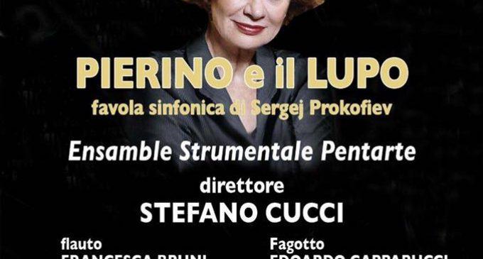 """Spettacolo con Giuliana Lojodice """"Pierino e il Lupo"""""""
