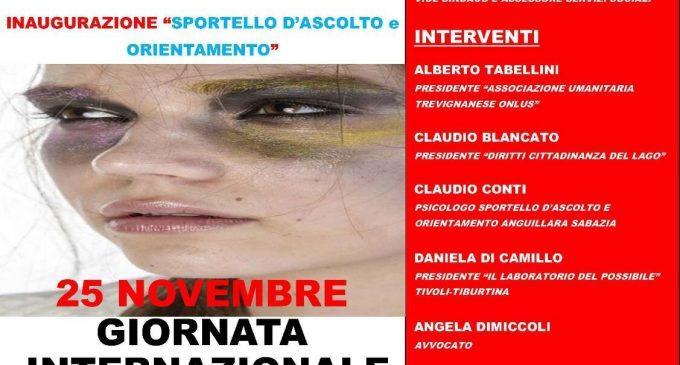 Anguillara celebra la giornata internazionale contro la violenza sulle donne