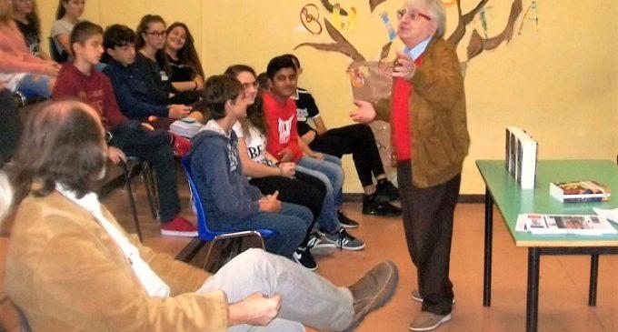 Gli alunni dell'istituto comprensivo Corrado Melone di Ladispoli raccontano dell'incontro con lo scrittore Amedeo Lanucara