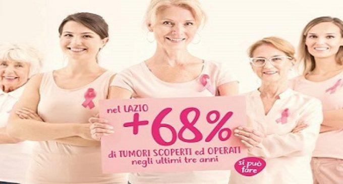 """La Regione Lazio, risultati di """"Ottobre rosa"""", la campagna per la prevenzione del tumore al seno"""