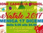 Cerveteri, il Rione Casaccia Vignola presenta 'Luci, profumi e colori del Natale 2017'