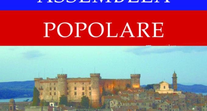 """""""Assemblea Popolare"""" a Bracciano il 6 dicembre alle ore 17.00"""