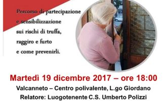 I carabinieri incontrano i cittadini: come difendersi da truffe, furti e raggiri