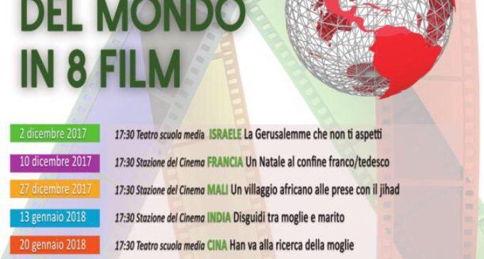 """Anguillara, cineforum """"Il giro del mondo in 8 film"""""""