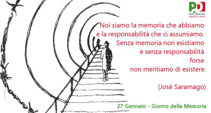 """Il PD di Anguillara celebra la """"giornata della memoria"""" ricordando le parole dello scrittore Mario Rigoni Stern"""