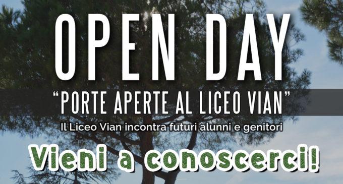 Scuola: porte aperte al Liceo Vian sabato 13 gennaio dalle ore 10 alle ore 12.30