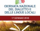 Cultura, il 17 gennaio è la giornata del dialetto e delle lingue locali