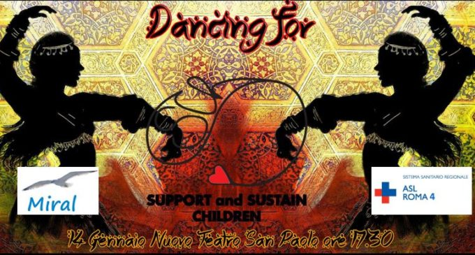 "La Asl Roma 4 da il patrocinio per l'evento di beneficenza ""Dancing for Support and Sustain Children"""