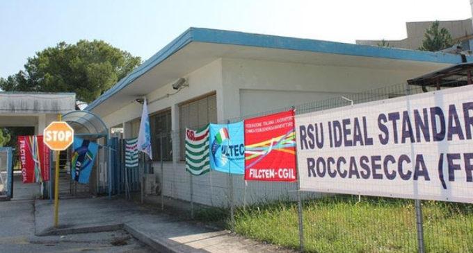 Roccasecca (FR), l'Ideal Standard non chiude più. Un'altra società rileva lo stabilimento e salva i posti di lavoro