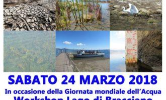 Bracciano, giornata mondiale dell'acqua sabato 24 marzo