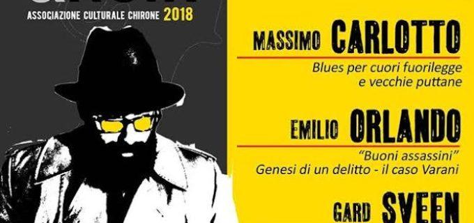 """Grandi nomi della letteratura attesi al Festival """"Tolfa Gialli&Noir 2018"""""""